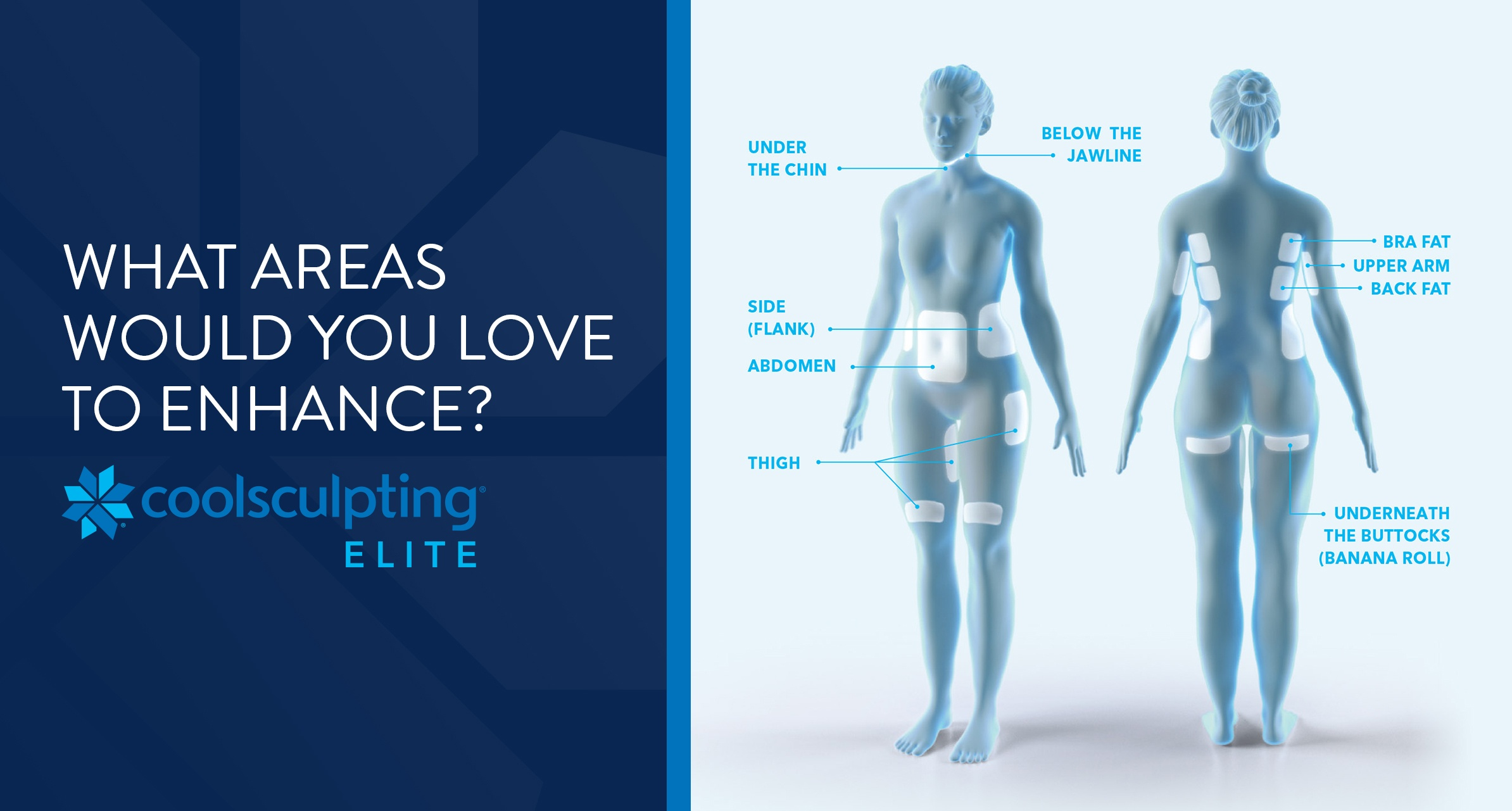CoolSculpting - Areas To Enhance