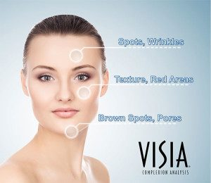 Areas where Visia Complexion analysis can help