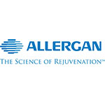 Allegan logo with tagline: the science of rejuvenation