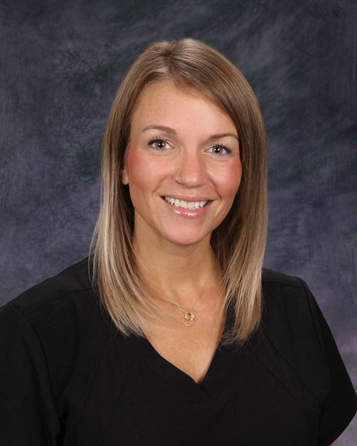 Smiling at the camera, Ashley Cook is a licensed practice nurse at Dermatology Associates of Rochester.